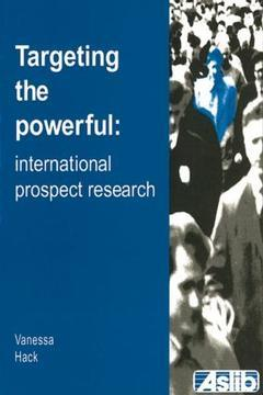 Cover of the book Targeting the powerful : international prospect research (paper)
