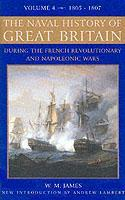 Cover of the book The Naval History of Great Britain : V. 4: From the Declaration of War by France in 1793 to the Accession of George IV (New Ed.)