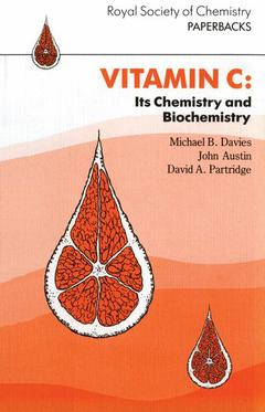 Cover of the book Vitamin C : its chemistry and biochemistry (PB9 vitamin C)