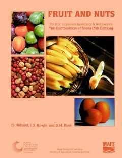 Cover of the book Fruit and nuts (1st supp. to composition of foods) POD