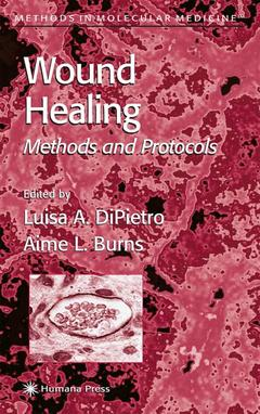 Couverture de l'ouvrage Wound healing. Methods and protocols POD
