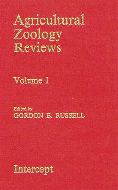 Couverture de l'ouvrage Agricultural zoology reviews Volume 1
