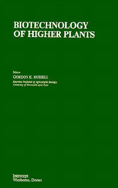 Couverture de l'ouvrage Biotechnology of higher plants