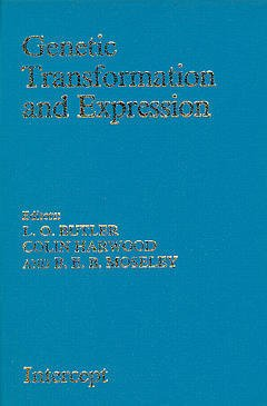 Couverture de l'ouvrage Genetic transformation and expression