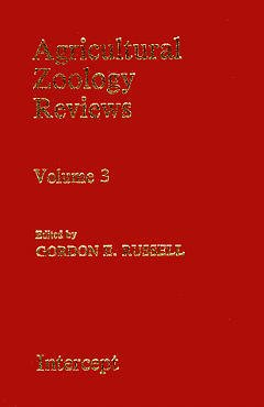 Couverture de l'ouvrage Agricultural zoology reviews Volume 3