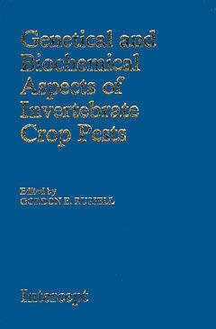 Couverture de l'ouvrage Genetical and biochemical aspects of invertebrate crop pests