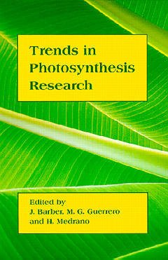 Couverture de l'ouvrage Trends in photosynthesis research