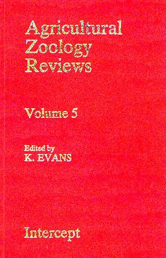 Couverture de l'ouvrage Agricultural zoology reviews vol 5