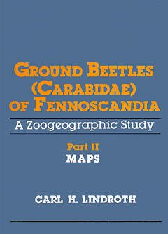 Couverture de l'ouvrage Ground beetles (carabidae) of fennoscandia, a zoogeographic study part 2 : maps