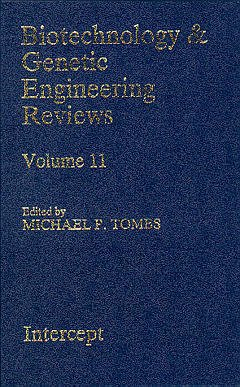Couverture de l'ouvrage Biotechnology and genetic engineering reviews vol 11
