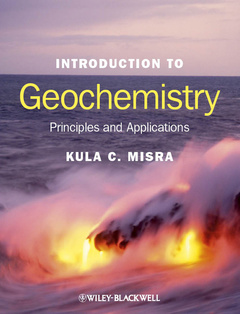 Cover of the book Introduction to geochemistry (Paper)