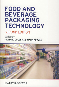 Couverture de l'ouvrage Food and beverage packaging technology