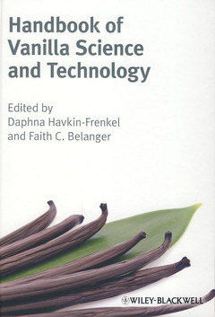 Couverture de l'ouvrage Handbook of vanilla science & technology