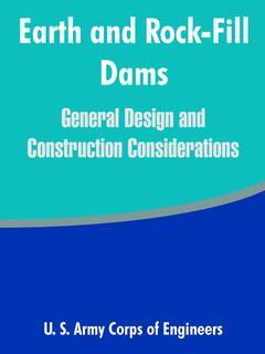 Couverture de l'ouvrage Earth and rock-fill dams : general design and construction considerations