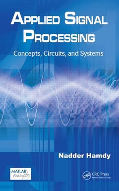 Couverture de l'ouvrage Applied signal processing: concepts, circuits & systems