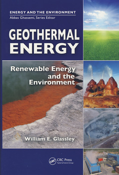 Couverture de l'ouvrage Geothermal energy
