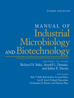Cover of the book Manual of industrial microbiology and biotechnology