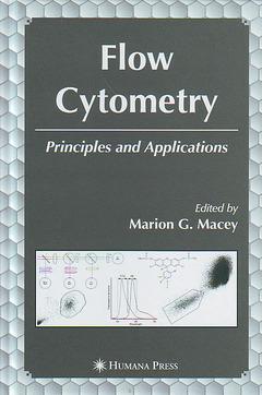 Couverture de l'ouvrage Flow cytometry : Principles and applications