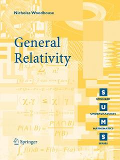 Cover of the book General relativity