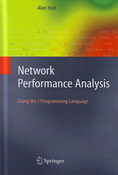 Couverture de l'ouvrage Network performance analysis: Using the J programming language