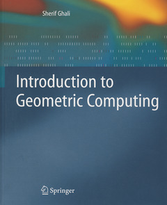 Cover of the book Introduction to geometric computing