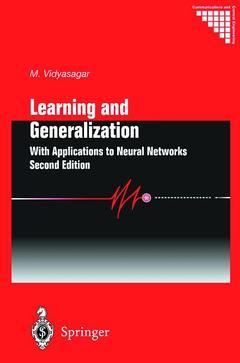 Couverture de l'ouvrage Learning and generalization: with applications to neural networks (2nd ed) (POD)