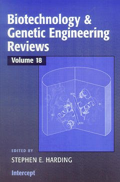 Couverture de l'ouvrage Biotechnology & Genetic (Engineering Reviews Volume 18)