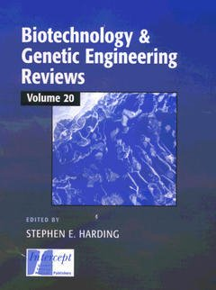 Couverture de l'ouvrage Biotechnology & genetic engineering reviews, Vol. 20