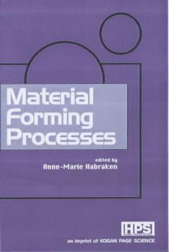 Couverture de l'ouvrage Material Forming Process