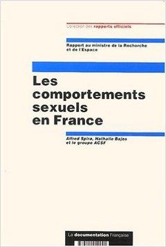 Couverture de l'ouvrage Les comportements sexuels en France