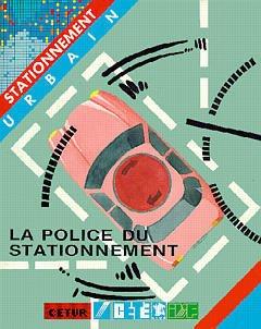 Couverture de l'ouvrage La police du stationnement