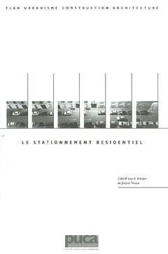 Couverture de l'ouvrage Le stationnement résidentiel