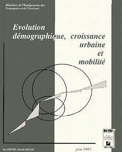 Couverture de l'ouvrage Evolution démographique, croissance urbaine & mobilité