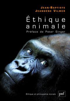 Couverture de l'ouvrage éthique animale