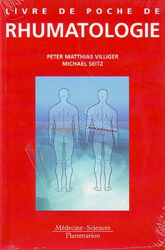Couverture de l'ouvrage Livre de poche de rhumatologie