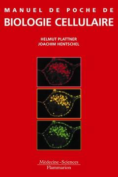 Couverture de l'ouvrage Manuel de poche de biologie cellulaire