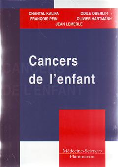 Couverture de l'ouvrage Cancers de l'enfant