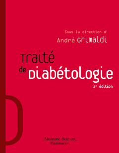 Couverture de l'ouvrage Traité de diabétologie