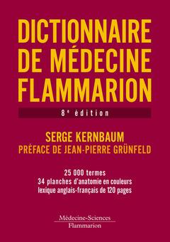 Couverture de l'ouvrage Dictionnaire de médecine Flammarion