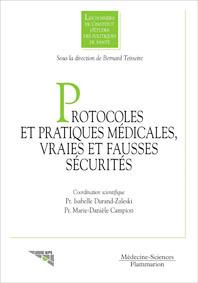 Couverture de l'ouvrage Protocoles et pratiques médicales