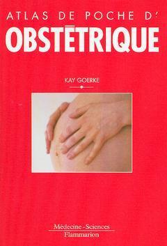 Couverture de l'ouvrage Atlas de poche d'obstétrique