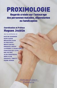 Couverture de l'ouvrage Proximologie : regards croisés sur l'entourage des personnes malades et dépendantes