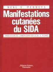Couverture de l'ouvrage Atlas des manifestations cutanées du SIDA