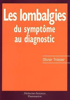 Couverture de l'ouvrage Les lombalgies : du symptôme au diagnostic