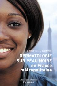 Couverture de l'ouvrage Dermatologie sur peau noire en France métropolitaine