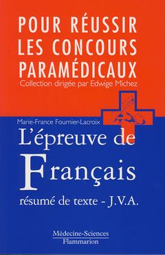 Couverture de l'ouvrage L'épreuve de français, le résumé de texte. Jury de validation des acquis