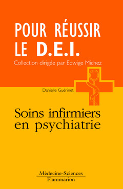 Couverture de l'ouvrage Soins infirmiers en psychiatrie