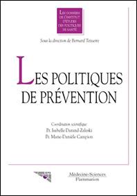 Couverture de l'ouvrage Les politiques de prévention