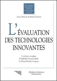 Couverture de l'ouvrage L'évaluation des technologies innovantes