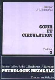 Couverture de l'ouvrage Coeur et circulation (pathologie médicale, fascicule 3) 2° Éd.